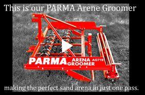PARMA Arena Groomer Demo Video.